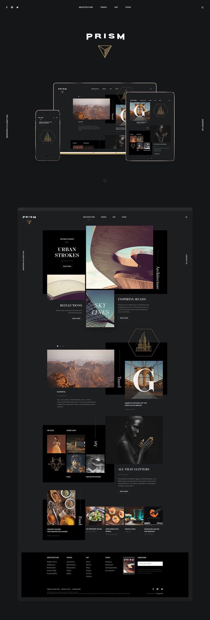 Official Showcase Website for Adobe   Abduzeedo Design Inspiration