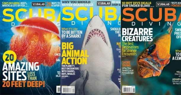 FREE Subscription to Scuba Diving Magazine!