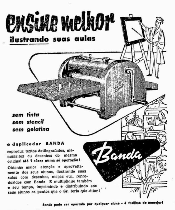 1958   MIMEÓGRAFO