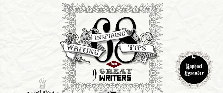 This infographic combines 68 pieces of advice on writing from Ernest Hemingway, Elmore Leonard, Margaret Atwood, John Steinbeck, Henry Miller, Kurt Vonnegut, Mark Twain, George Orwell, and Ray Brad…