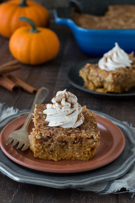 Pumpkin Dump Cake | Recipe | Fall desserts, Fall dessert ...
