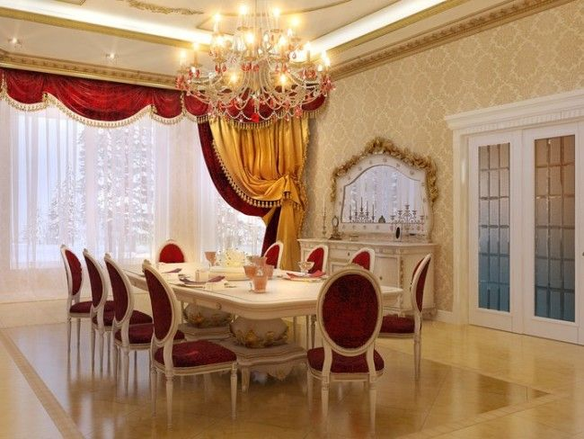 10 Examples Of Victorian Style Design Dining In A Luxurious Way