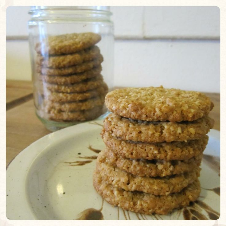 """""""hobnobs"""" oat cookie biscuits with gluten free, dairy free, and egg free options"""