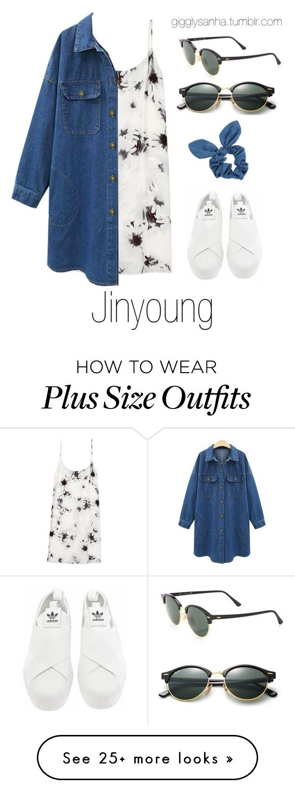 """Casual LA Date // Jinyoung"" by suga-infires on Polyvore featuring TIBI, adidas, Dorothy Perkins and Ray-Ban"