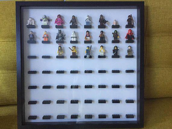 LEGO minifigure Display case  lego minifig lego star wars