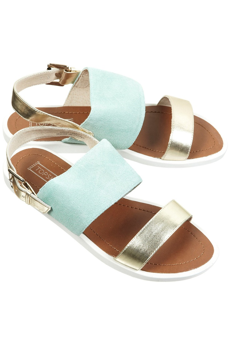 HALLY MINT SPORTY SANDALS by TOP SHOP | Shoes | Pinterest