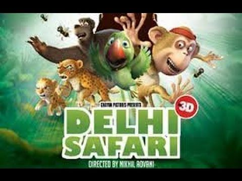 Animation Movies | Delhi Safari  full movie english | Cartoons movie | D...