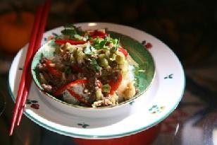 Chinesisches Rind mit Roter Paprika á la Martina Meuth Rezept