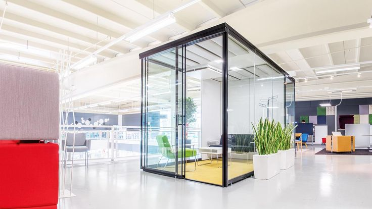 Vetro office pod Glass office pods Glass telephone booths - design schallabsorber trennwande