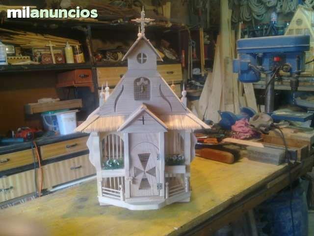 Jaulas decoracion segunda mano for Vendo casa de madera de segunda mano