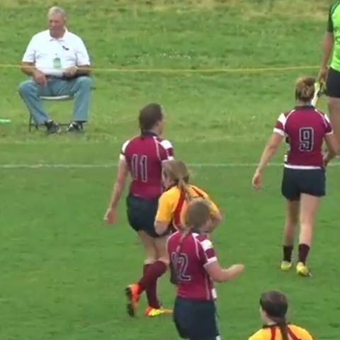 Friday 9/9/16 ~ Our oldest granddaughter, Nicole (#11), plays rugby for Lee University. Her first game was tonight. Last year they were #3 in the nation. Jason, Windy & Nathan went to Tennessee to watch her game. House cleaning day for me.