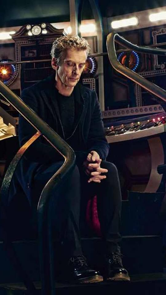 Its still their you can see it in his face his body and the way he looks at his shoes he looks like he remembers when he was 8 but he kind a has a 9 look on his face but he also remembers all the pain in every regeneration