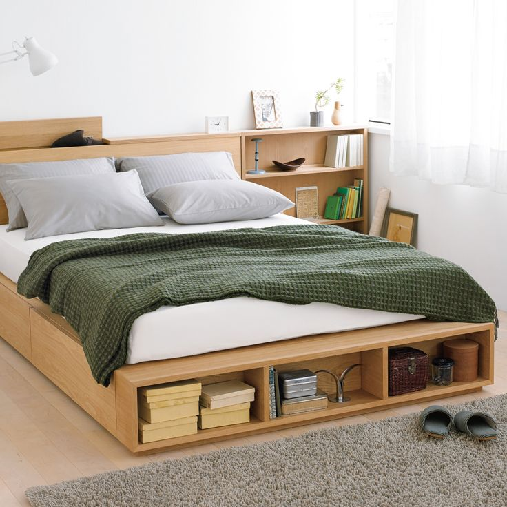 MUJI bed with storage 19 best Bedroom images on Pinterest  ideas Home and