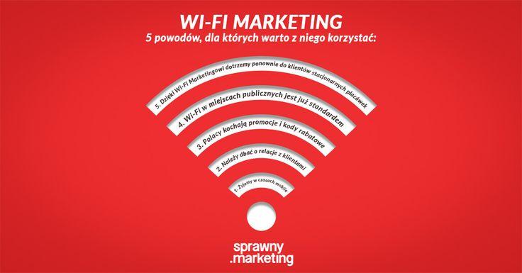 WiFi marketing. W naszym artykule specjaliści z branży zdradzają jakie korzyści może nam przynieść.  http://bit.ly/wifi-marketing