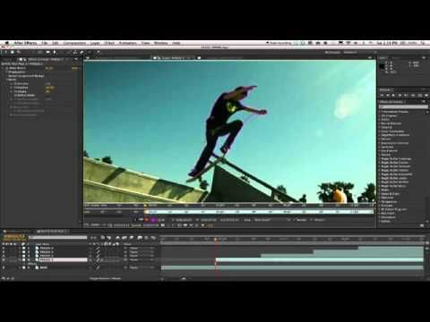 Show A Motion Path With The StroMotion Effect [ae tutsp.com]