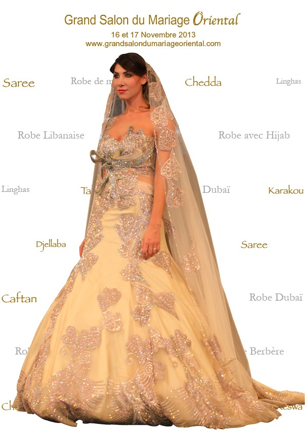 17 best images about keswa melia on pinterest sparkle robes and mariage - Salon du mariage oriental ...