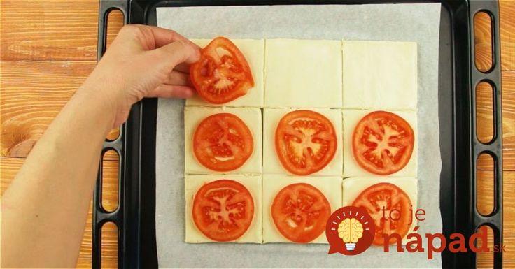 Nebudete veriť vlastným chuťovým pohárikom, akú pochúťku môžete vykúzliť z paradajok a lístkového cesta. Navyše, tak jednoducho a rýchlo!