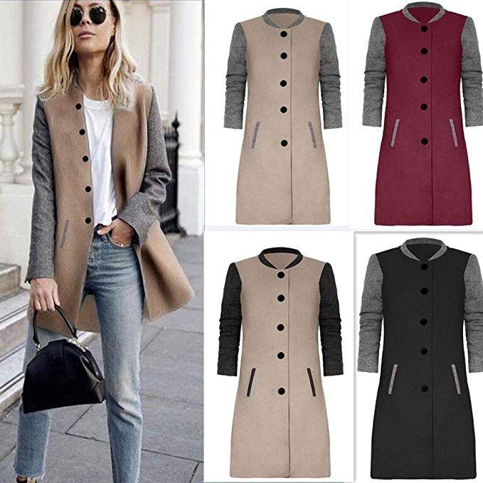 buy popular 2a064 80f25 Cappotto Donna Elegante,feiXIANG Maglieria Cashmere Cardigan ...