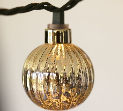 48 best images about lighting on pinterest mercury glass for Pottery barn lantern string lights