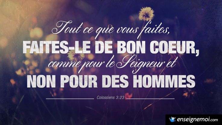 Colossiens 3:23