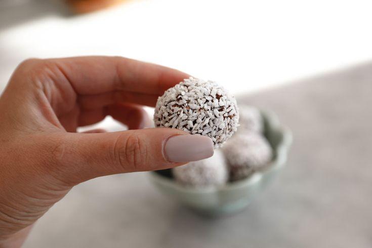 Chokladbollar: Recept utan socker och smör  #chokladbollar #nyttigare #hälsosam #recept #sötsug #tips #banan