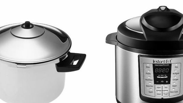 Image result for What is the difference between stove-top and electric pressure cooker?