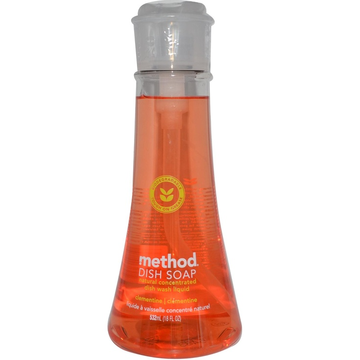 Method, Dish Soap, Clementine, 18 fl oz (532 ml)    Get 5 dollars off if you spend 20 dollars and FREE SHIPPING by putting code in when you pay..FAF540. Excellent value on vitamins-supplements-household items like Method-Shampoo etc..-Lotion-Bath products..LOVE iherb.com-Check it out and SAVE!