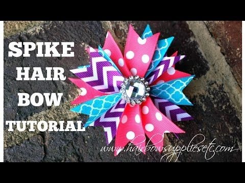How to Make a Spike Hair Bow