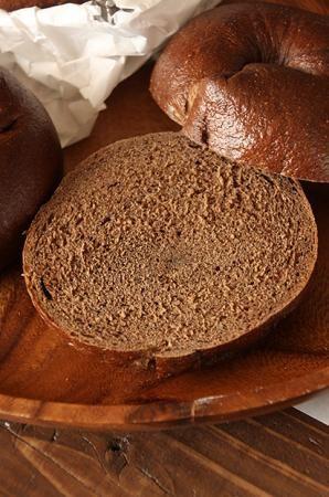 ベーグル・プンパニッケル:cottaプロのレシピ