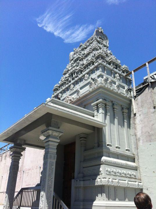 Ganesh Temple Canteen - restaurant inside of a Hindu temple