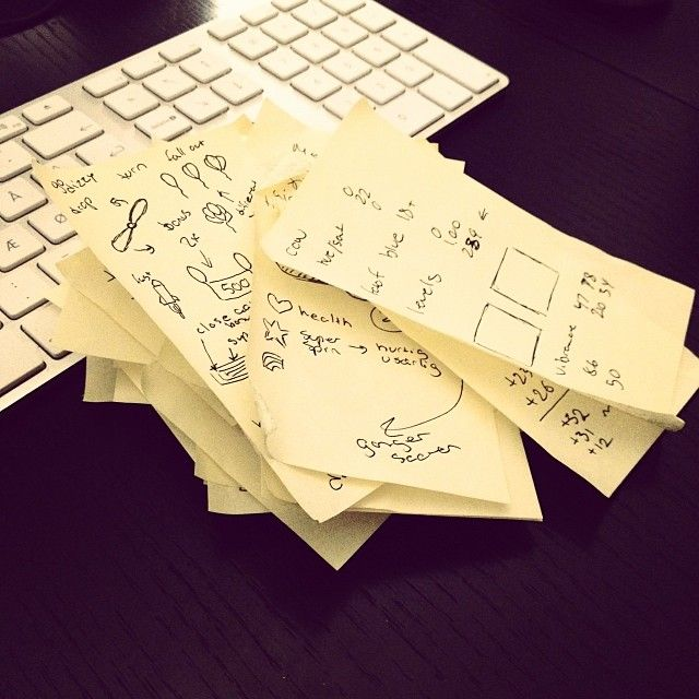 I need post-its for my post-its :-) #indie... | Developer blog