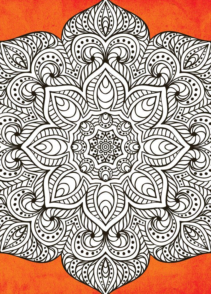 364 Best Images About MandalasRangoliIslamic Patterns On Pinterest
