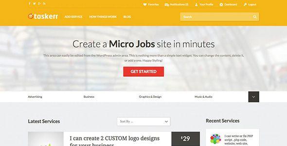 Taskerr Web Design Agency Custom Logo Design Open Source Code