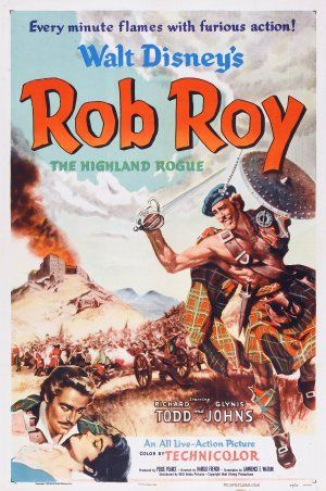 Rob Roy, the Highland Rogue {1953} Didn't know this was a thing. I've only seen the Liam Neeson version. I'm intrigued.