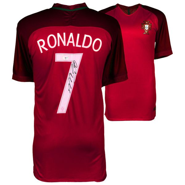 Cristiano Ronaldo Portugal Fanatics Authentic Autographed 2015-16 Home Jersey - $799.99