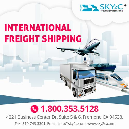 We deliver fast and efficient door to door international #Freight service, shipping items to anywhere in the world.