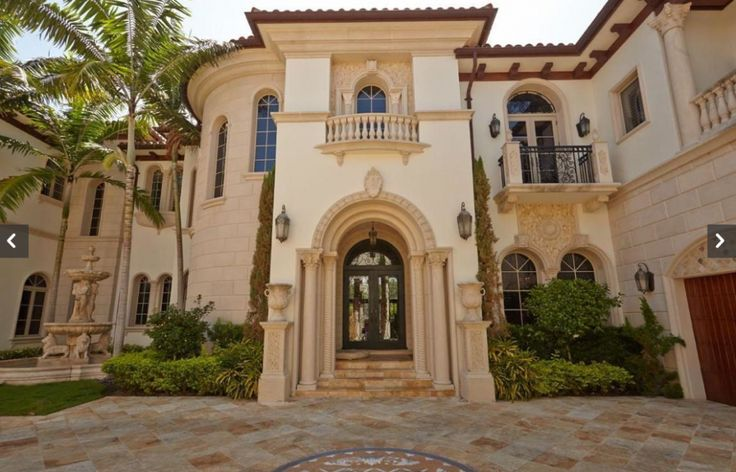 Mediterranean villa deerfield beach florida old world for Luxury mediterranean villas