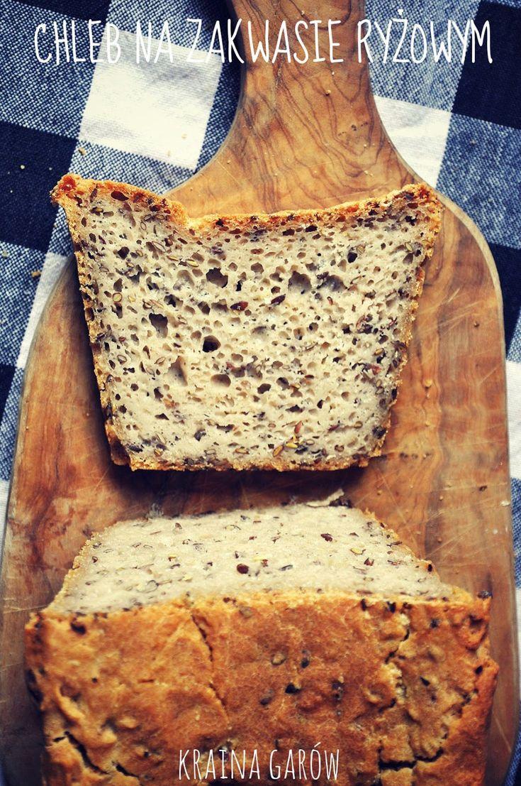 Kraina Garów: Chleb gryczany na zakwasie.