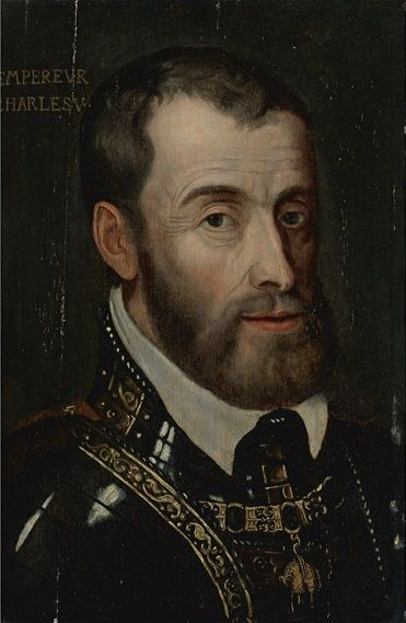 Charles V was the Holy Roman Emperor from 1519-1556 and the most powerful ruler in the 16th century. He reigned over the Low Countries, Spain, Spain's Italian and New World dominions, and the Austrian Habsburg lands. In 1521, Martin Luther appeared before the emperor during the Imperial Diet of Worms,one the most important events of the 16th century, where Luther defended his faith. -L.O.