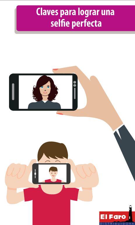 Pasos recomendados para la hora de tomar selfies y hacer que estas queden espectaculares.