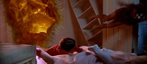 poltergeist closet scene Original movie, Poltergeist, Fun