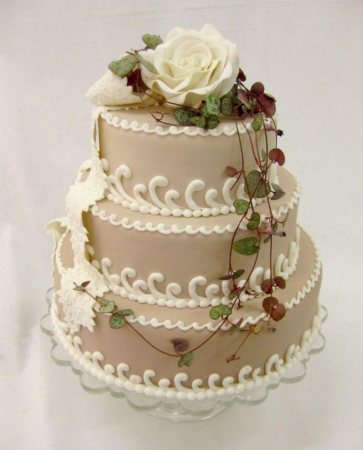 shabby chic bridal shower cakes%0A Shabby Chic Cake