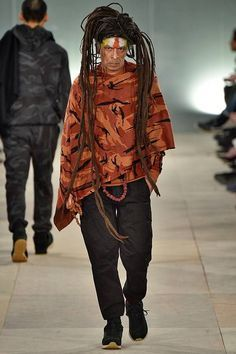maharishi defile @ lcm aw16 | apocalyptic camouflage meets sadhu chic with deadly dreads and street on the feet | we're there | we're all there