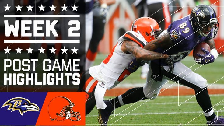 Ravens vs. Browns (Week 2) | Post Game Highlights | NFL
