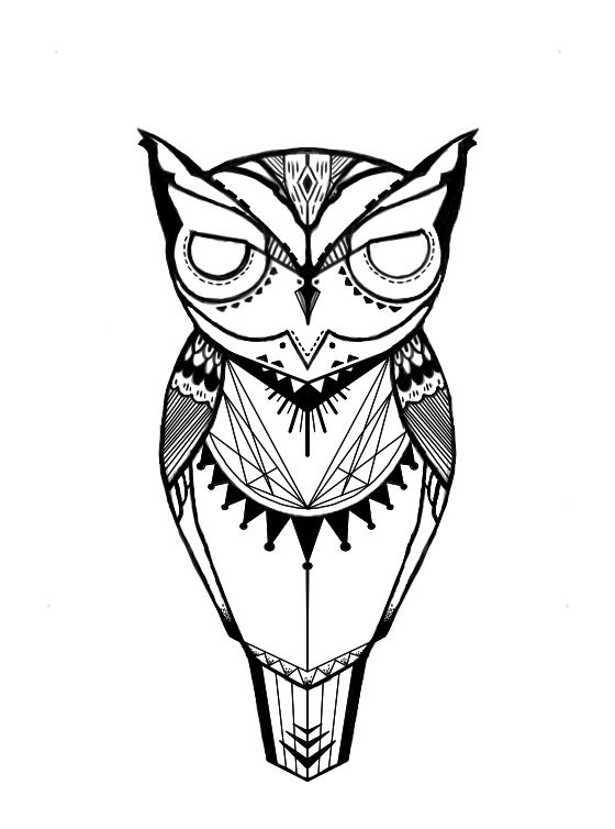 Thinking of using this to take my tattoo virginity. Inspired mainly by one of David Hale's (Love Hawk) owl pieces. Suggestions/critiques appreciated! | Tattoos Pin
