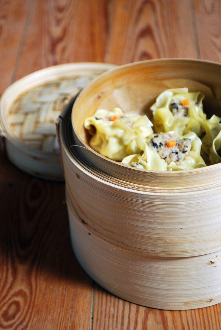 Découvrez la recette Dim Sum ou raviolis chinois sur cuisineactuelle.fr.