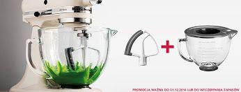 Cos dla miłośników wypieków i nie tylko robot planetarny Kitchen Aid do końca grudnia mieszadło i szklana dzieżga gratis http://homeandfood.eu/sprzetagd
