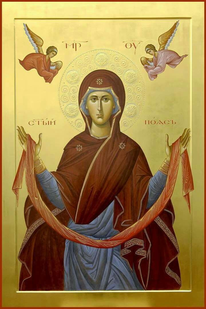 Holy Protection [Pokrov] Icon of the Theotokos