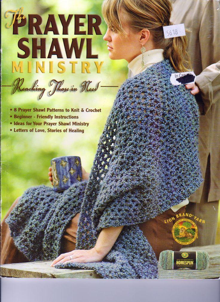The Prayer Shawl Ministry, 8 prayer Shawls to Knit and Crochet, Prayer Shawl Patterns, Leisure Arts 4225 by OnceUponAnHeirloom on Etsy