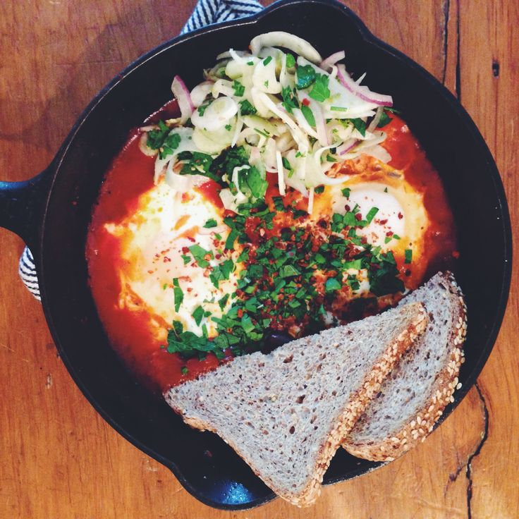 It's the first week back at work and you're beat. Here's a healthy and easy dinner for when you can't even. I personally love to eat shakshuka at any meal of the day because it's such a joy to eat....